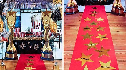 Fiesta De 15 Años Al Estilo Hollywood Fiesta De Cine Fiesta De Alfombra Roja Fiesta De Hollywood
