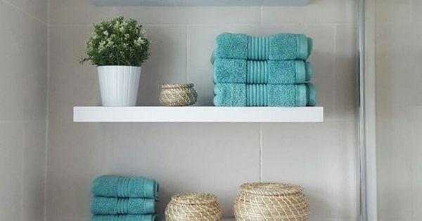 Ideas de almacenaje para ba os estanter as ba o y espacios - Muebles almacenaje bano ...