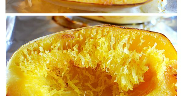 How to cook spaghetti squash... simple and delicious, recipe included.