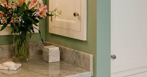 Bathroom Mirror Cabinet W Led Lights Adjustable Shelves: Recessed Medicine Cabinet Beside Sink For Extra Storage