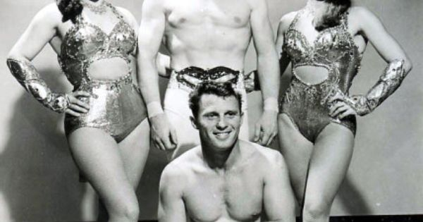 Quot The Ortons Quot A Sexy Trapeze Act Circa 1950s Vintage