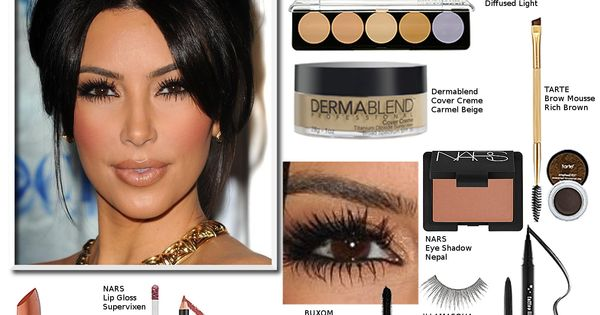 Kim Kardashian Makeup how to's and DUPES