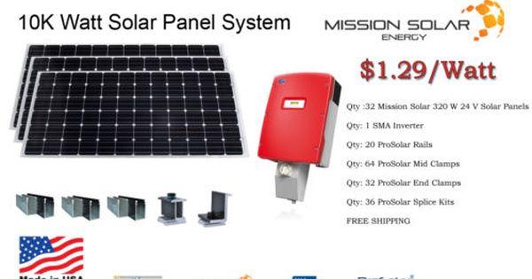 10kw Solar Power System In 2020 Solar Solar System Solar Power System