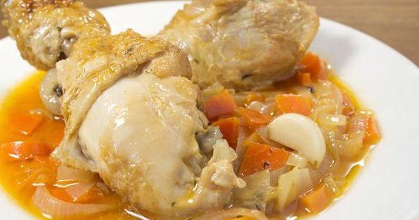 Receta: Pollo en escabeche. | Cocina y Recetas | Pinterest