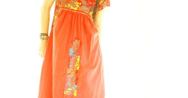 Candelaria san antonino fine mexican embroidered dress