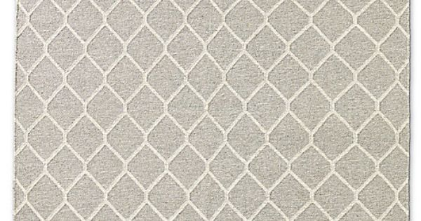 Honeycomb Flatweave Restoration Hardware Like The Pattern For A Rug Or Bathroom Paper Home