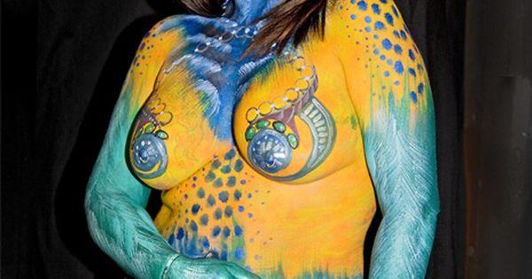 Alwun House Body Paint