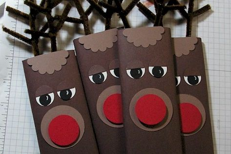Hershey Bars- cute Christmas gift idea