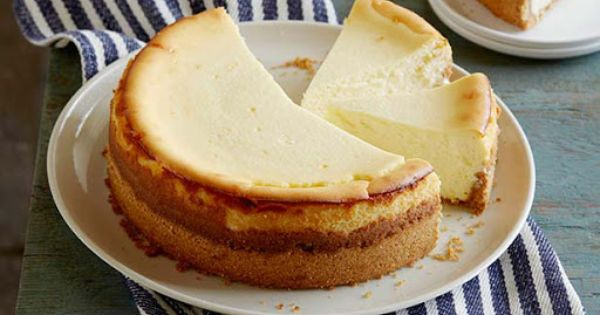 Goat Cheese Cheesecake with Spiced Wafer Crust | Food | Pinterest ...