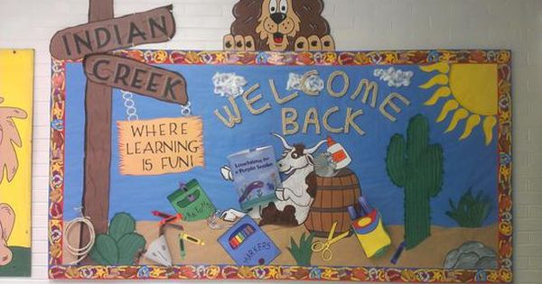 Welcome Back To Indian Creek Where Learning Is Fun Back