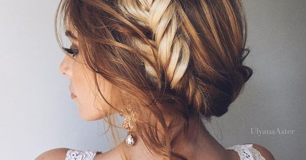 35 Wedding Updo Hairstyles For Long Hair From Ulyana Aster: 15 Unexpected Hairstyles That Are Perfect For Your Wedding