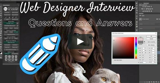 Web Designer Interview Tips Interview Questions Interview Questions And Answers This Or That Questions