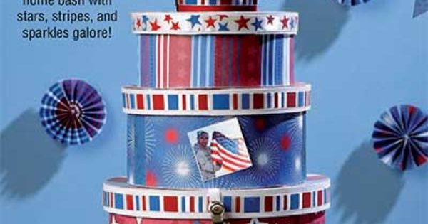 Throw a welcome home bash with stars stripes and for Patriotic welcome home decorations