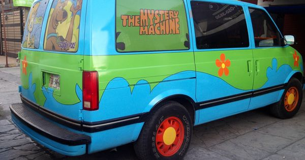 the mystery machine scooby doo astro van ideas para una fiesta pinterest chevy vans. Black Bedroom Furniture Sets. Home Design Ideas