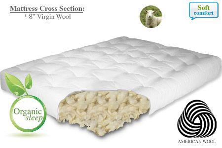 New All Organic Wool Mattresses Interieur Ideeen Interieur