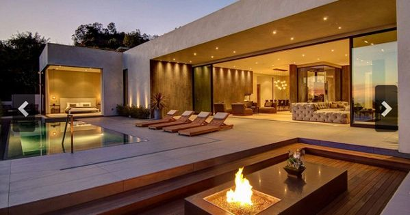 Luxury Terraces 10 Outdoor Design Ideas With Fireplace