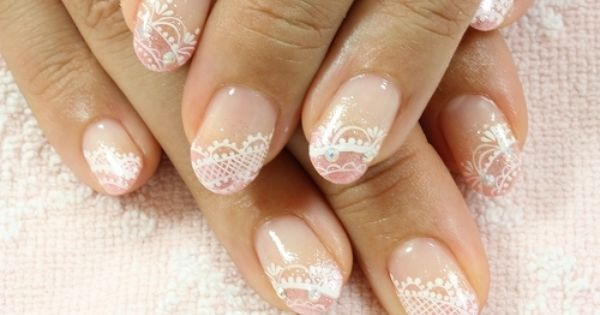 """Bridal Nail Colours, what's """"in"""" right now? : wedding Nails"""
