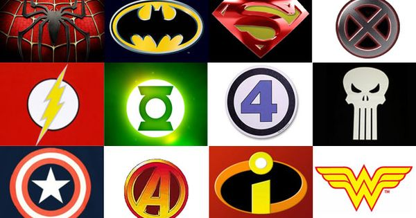 Looking For Alaska Symbols: Every Superhero Logo