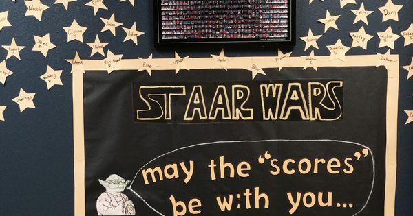 Classroom Treat Ideas ~ Staar test banner classroom testing pinterest
