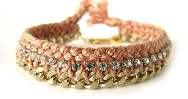 #Gold Chain Bracelet Bracelets bracelets fashion nice www.2dayslook.com
