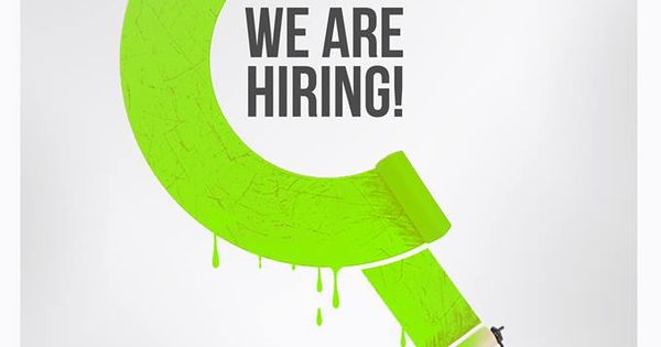 We are hiring! Send in your resume and portfolio to info - hiring resume