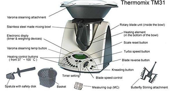 KNOPF Geschwindigkeit Vorwerk Thermomix TM31