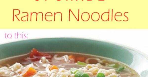 Ramen, Quick cheap meals and Cheap meals on Pinterest