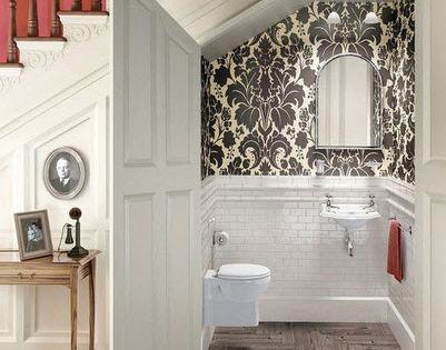 Como dise ar un cuarto de ba o debajo de las escaleras modelos toilet bathroom storage and - Como disenar un cuarto de bano ...