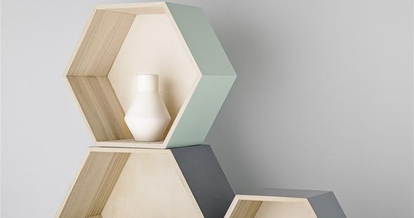 les tag res hexagonales se cr er un d cor scandinave pinterest chang 39 e 3 and deco. Black Bedroom Furniture Sets. Home Design Ideas