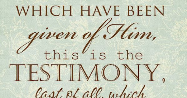 He lives! - D 76:22 mormon quote scripture lds Christian testimony