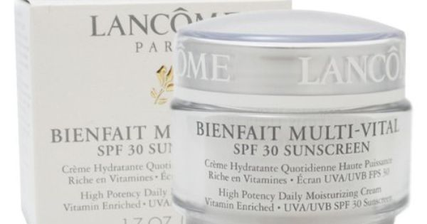 lancome bienfait multi vital by lancome for women high potency daily moisturizing cream vitamin. Black Bedroom Furniture Sets. Home Design Ideas