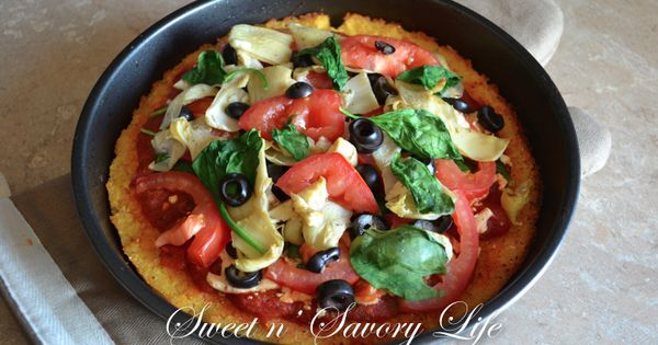 omit any pig -- Italian Polenta Pizza *for Two | Made Just