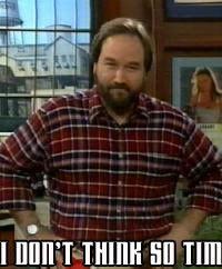 Richard Karn As Al Borland From Tool Time Home Improvement Tv Show Home Improvement Show Home Improvement