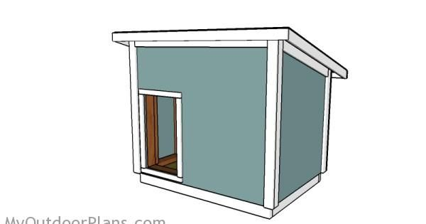 Dog House Plans For Large Dog Free Outdoor Plans Diy