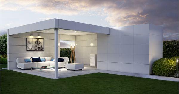 Tuinhuis poolhouse modern tuinaanleg tuinarchitect for Tuinarchitect modern