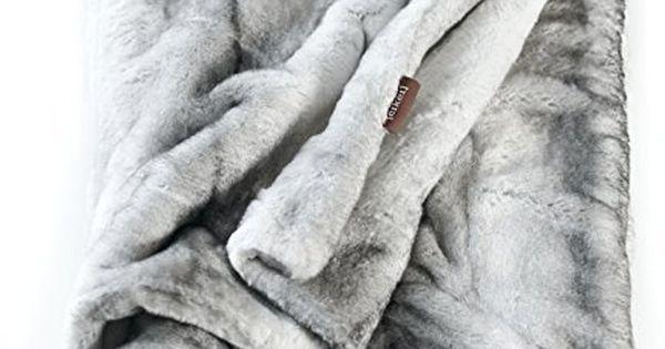 machine washable faux fur throw