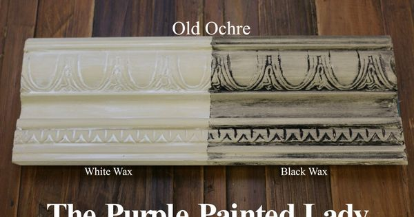 The Purple Painted Lady Old Ochre Chalk Paint Annie Sloan