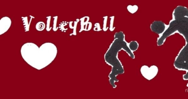I Love Volleyball Facebook Cover Photo. Amo el voleibol ...