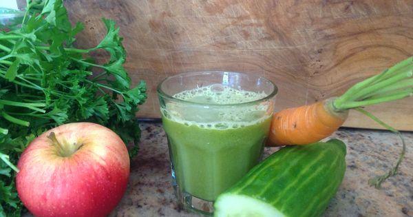 Concombre persil carotte pomme recettes extracteur de jus pinterest - Gelee de pommes avec extracteur de jus ...