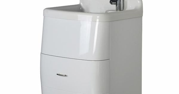 Presenza Deluxe Utility Sink And Storage Cabinet : Westinghouse - Deluxe Utility Sink and Storage Cabinet New House ...