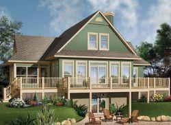Modern House Plan 1 Bedrooms 1 Bath 1028 Sq Ft Plan 5 1234 Lake House Plans Country Style House Plans Craftsman House Plans