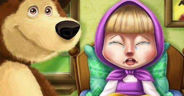 كرتون ماشا والدب ماشا تلعب العاب كرتون ماشا والدب للاطفال Arabic Lessons Cartoon Zelda Characters