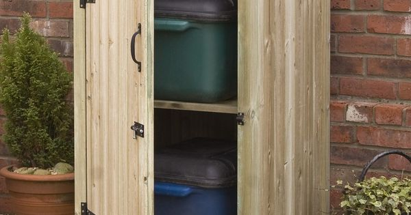 Ikea Storage Cabinet Simple Diy Wood Outdoor Storage