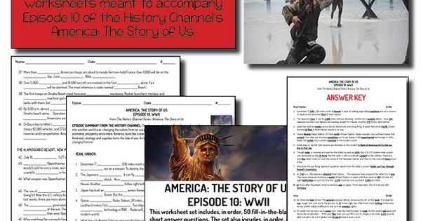 america the story of us episode 10 wwii history middle school and world war. Black Bedroom Furniture Sets. Home Design Ideas