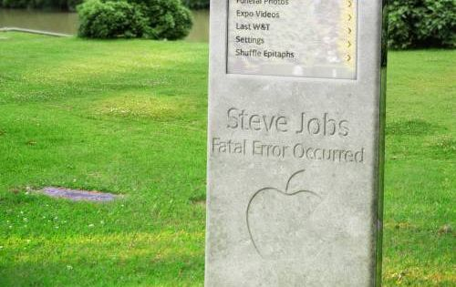 Steve Job's TombStone | Steve jobs
