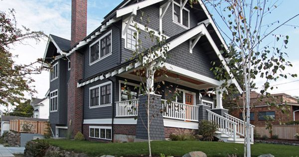 James Hardie Slate Gray Siding Ranch Updates Craftsman