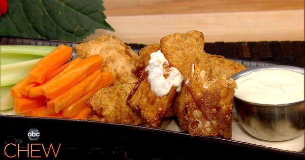 A new twist on a classic dish! Buffalo chicken spring rolls/ Daphne