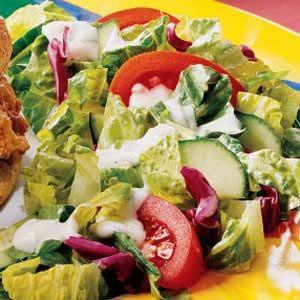 Quick Buttermilk Salad Dressing Recipe Buttermilk Salad Dressing Salad Dressing Recipes Easy Salad Dressing Recipes