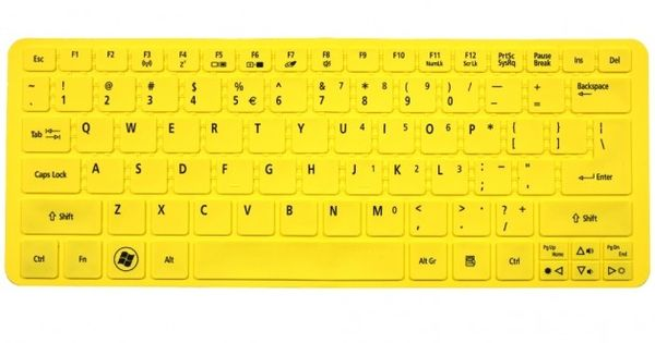 Full Color Acer Aspire S3 Keyboard Protector Skin Cover US ...