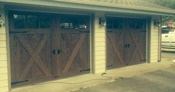 Clopay Canyon Ridge Collection Installed By Kitsap Garage Door In Bremerton Wa Kitsapgaragedoor With Images Garage Door Installation Garage Doors Installation